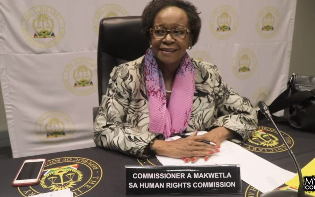 [WATCH] Interview with SA Human Rights Commissioner: Angie Makwetla